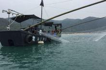 新玩法,南澳岛青澳湾海盗船主题海上娱乐