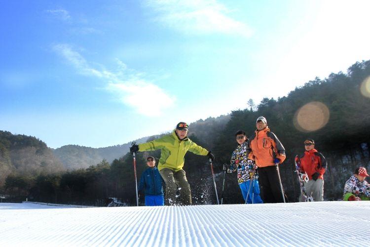 다밍산 완쏭링 스키장(대명산 만송령 스키장)3