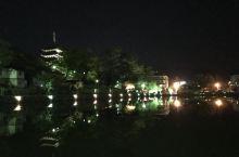 奈良猿沢池、興福寺