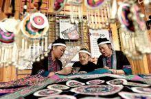 三江同乐乡,中国刺绣基地。精湛的刺绣手艺,