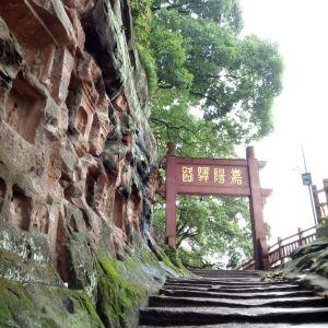夹江千佛岩旅游景点攻略图