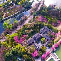 莫愁湖公园旅游景点攻略图