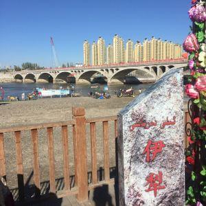 伊犁河旅游景点攻略图
