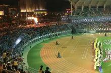 内蒙古自治区第十四届运动会圣火点燃仪式,金雕升起的乌兰察布