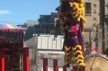 台湾游-高台舞狮