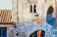网红国家摩洛哥,最上镜的蓝白小镇