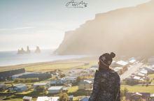 冰岛维克镇有片黑沙滩🖤