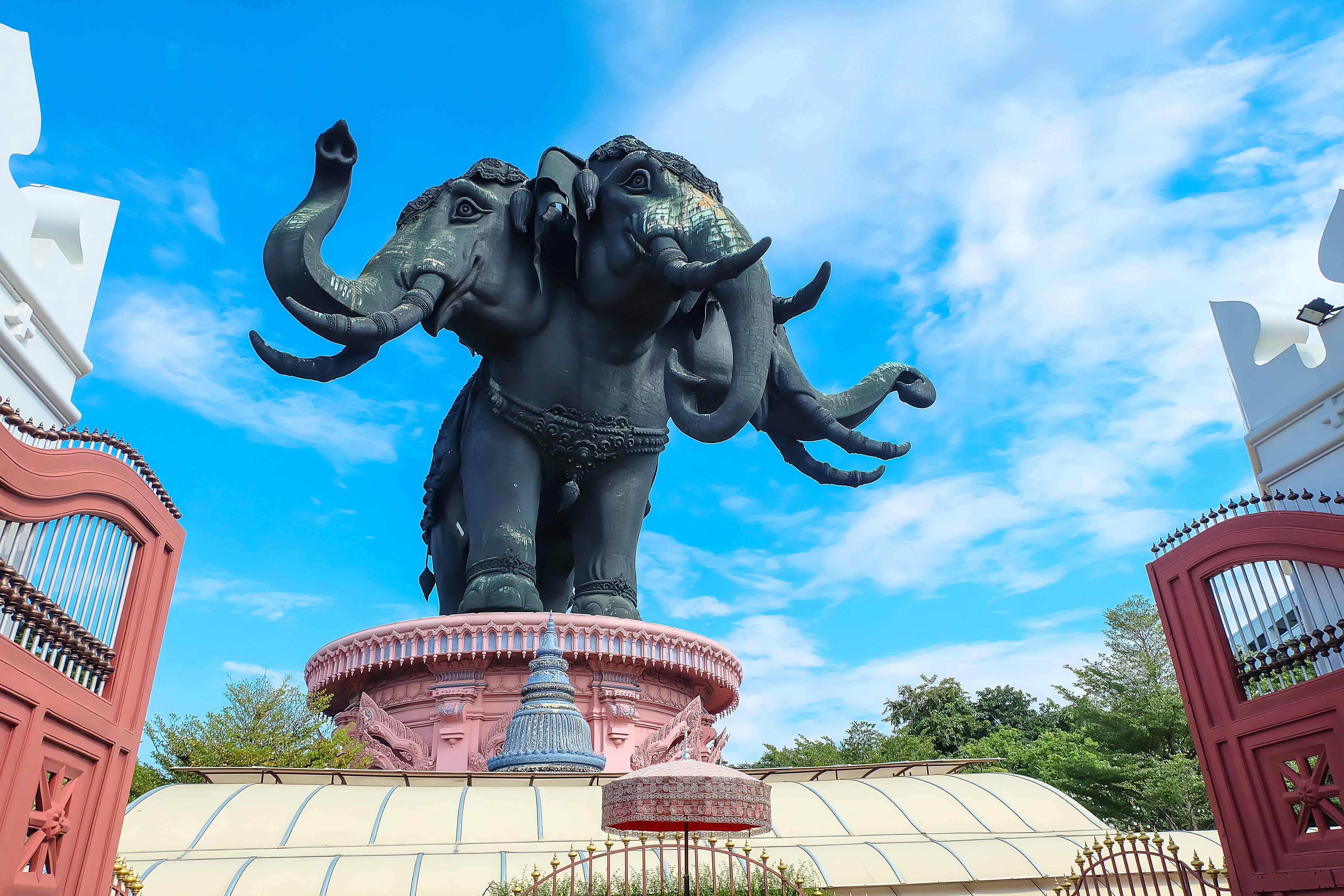 三头神象博物馆旅游景点图片
