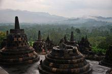 古代东方四大奇迹之一--婆罗浮屠建筑群