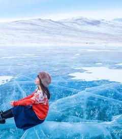 [贝加尔湖游记图片] 流连忘返,在贝加尔湖的冬天