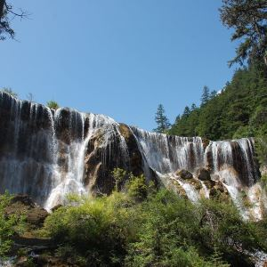 珍珠滩瀑布旅游景点攻略图