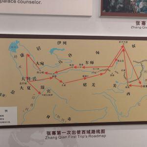 张骞纪念馆旅游景点攻略图