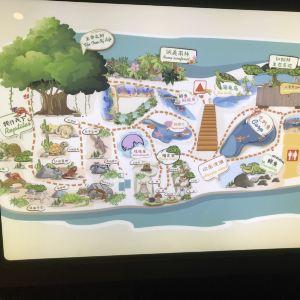 威高海洋公园旅游景点攻略图