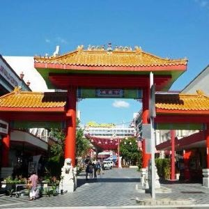 唐人街旅游景点攻略图