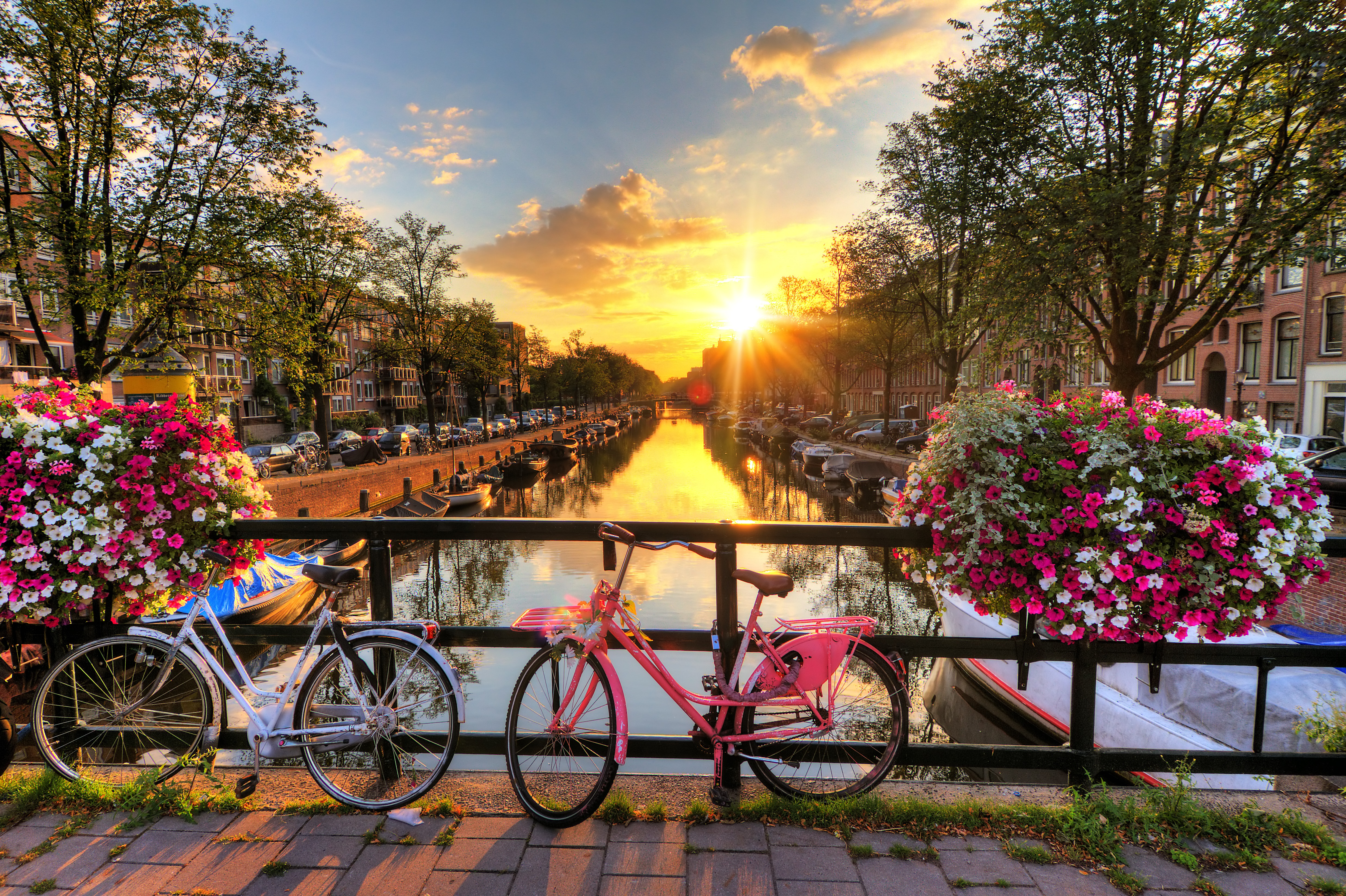 阿姆斯特丹旅游景点图片
