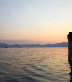 [云南游记图片] 周末与玉溪抚仙湖的浪漫约会,赏落日花海