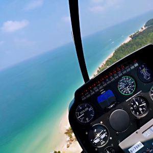 涠洲岛直升机体验旅游景点攻略图