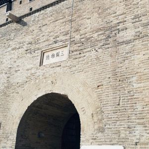 正定古城墙旅游景点攻略图