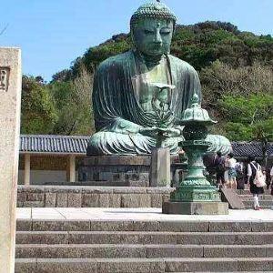 镰仓大佛旅游景点攻略图