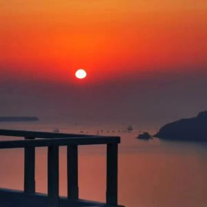 圣托里尼岛旅游景点攻略图