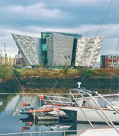 [贝尔法斯特游记图片] 怦然心动翡翠绿岛,一场意外的爱尔兰岛自驾游——冰山下的百年巨轮泰坦尼克号