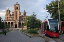 塞尔维亚,贝尔格莱德圣马可教堂,一座八十年历史左右的教堂。