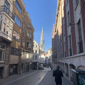 布鲁塞尔市政厅旅游景点攻略图