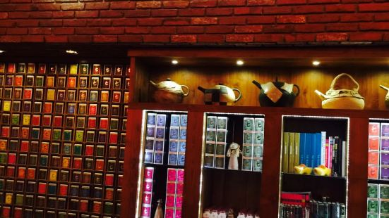 The t-Lounge on Chatham Street by Dilmah