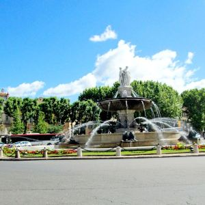 圆亭喷泉旅游景点攻略图