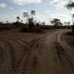 毛乌素沙漠旅游景点攻略图