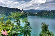 坐大巴去布莱德湖看斯洛文尼亚的国家名片