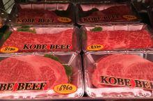 在大阪厨房黑门市场吃一次神户牛肉 大阪自称天下厨房【好大的口气!】,而大阪的厨房就在黑门市场。进去逛