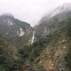 白杨瀑布旅游景点攻略图