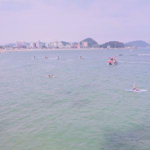 松亭海水浴场旅游景点攻略图