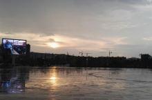雨后☔的夕阳