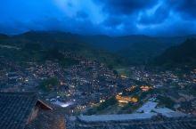 千户苗寨的灿烂夜景#向往的生活