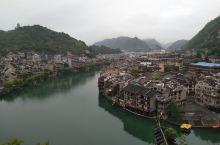 贵州黔西南镇远古镇(4)――玉皇阁俯瞰八卦城
