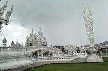 清莱白庙一定要去,可惜我们去的时候是阴天,拍不出白庙的美。