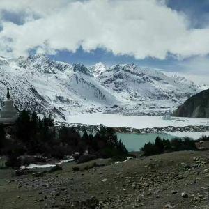 来古冰川旅游景点攻略图