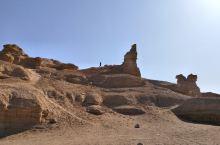 西部行43——哈密魔鬼城看雅丹地貌