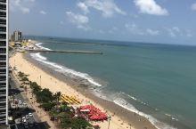 Fortaleza漂亮的海岸线