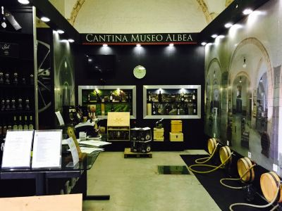 Cantina Albea winery and museum