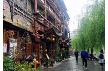 #春日寻芳#雨后的镇远古城