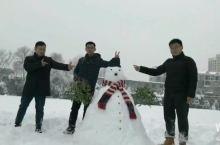 #记录美好#瑞雪兆丰年,堆雪人啦