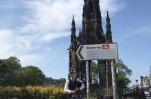 爱丁堡的帅气风笛手