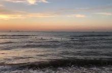 昌黎黄金海岸的日出