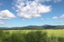 呼伦贝尔大草原的路上