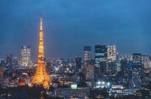 东京旅游攻略🗼人均30元带你看到最美的东京塔及东京夜景