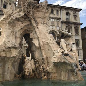 摩尔人喷泉旅游景点攻略图