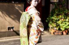 在祗园来一场舞伎变装